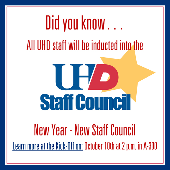 Staff Council - Did you know...