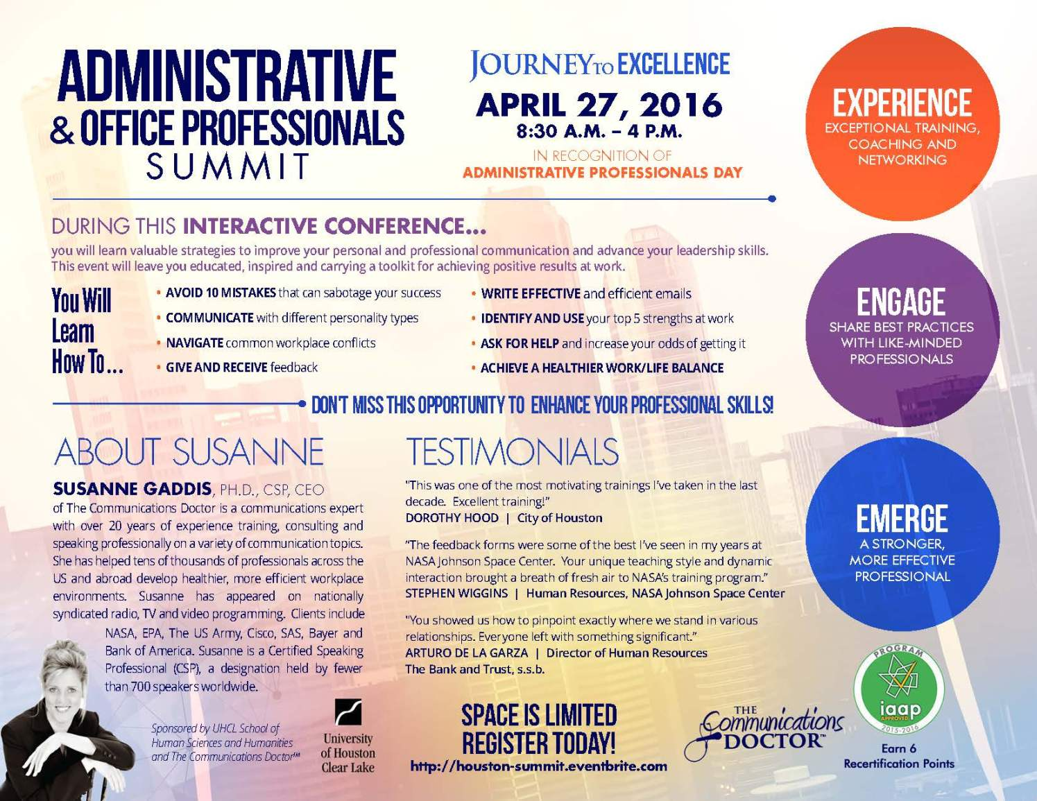 Summit Flyer UHCL Administrative and Office Professionals_Page_1