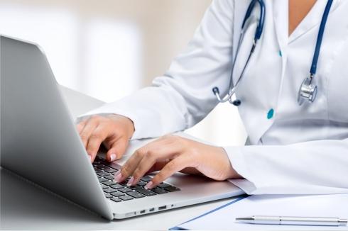 Computer Doctor Healthcare And Medicine Hospital Medicine Medical Exam Nurse