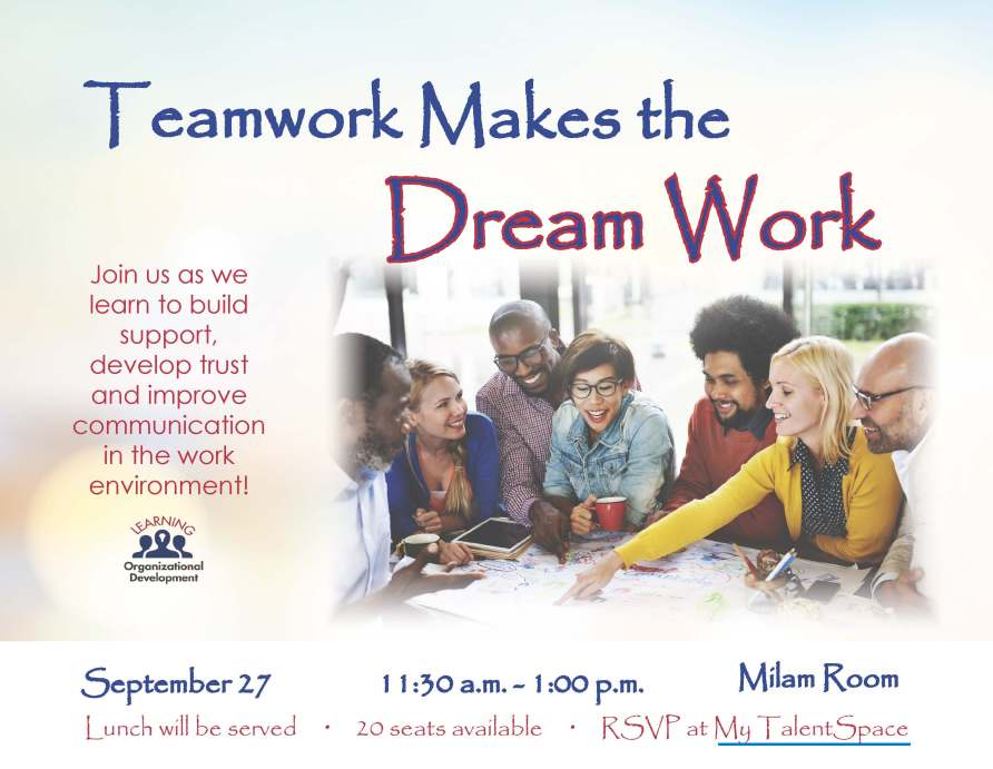 Teamwork Dream Work